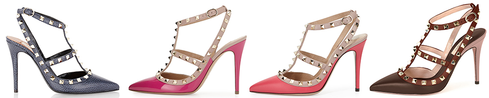 Valentino Rockstud Solid Color Pumps