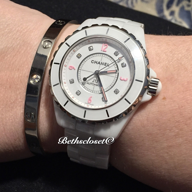 tPF Member: Bethc Watch: Chanel J12 White Watch