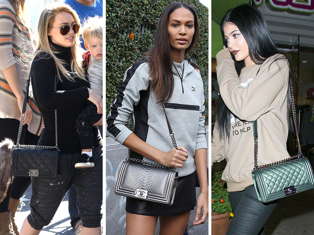 68e6e822828 50+ Pics That Prove Celebs are Just as Obsessed with the Chanel Boy Bag as  We Are