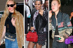 Celebs Prepped for the Met Gala with Great Bags from Gucci, Prada, Marc Jacobs and More
