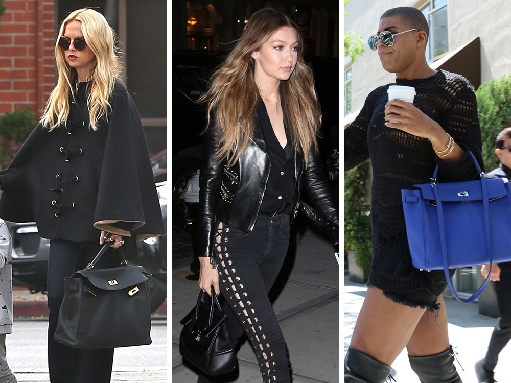 This Week Celeb Bag Attention Has Abruptly Turned To Versace Louis Vuitton And The Hermes Kelly Purseblog