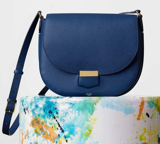 Celine-Medium-Trotteur-Bag-Blue-2650