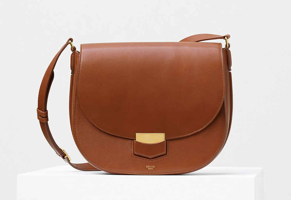 Celine-Medium-Trotteur-Bag-Tan-3100