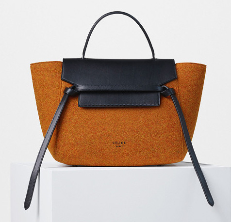Celine-Mini-Belt-Bag-Felt-Orange-2200
