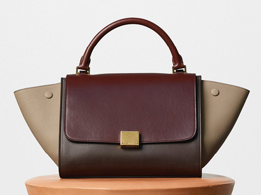 Celine-Small-Trapeze-Bag-Burgundy-2700