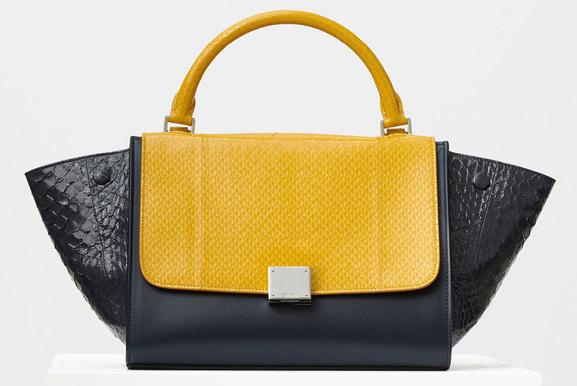 Celine-Small-Trapeze-Bag-Python-4500