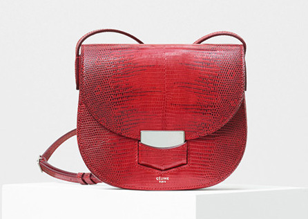 Celine-Small-Trotteur-Bag-Red-Lizard-4050