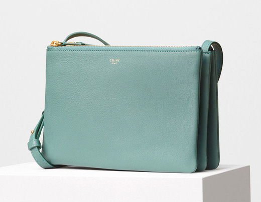 Celine-Trio-Shoulder-Bag-Green-1150