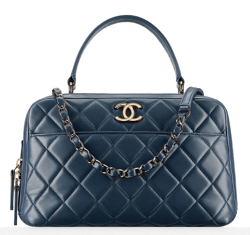 Chanel-Bowling-Bag-Blue-5200