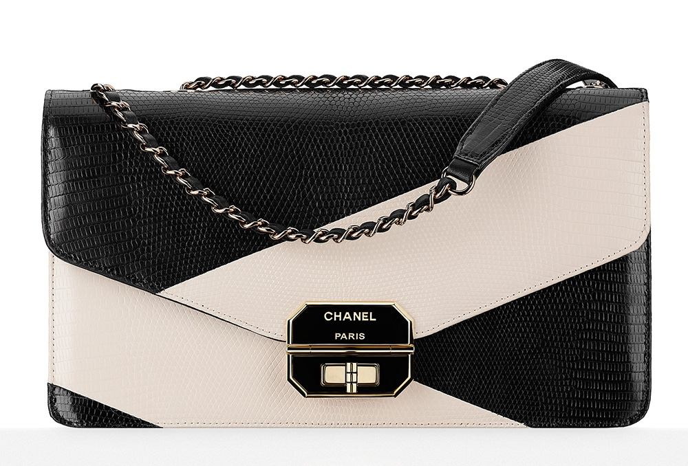 Chanel-Lizard-Flap-Bag-Ivory