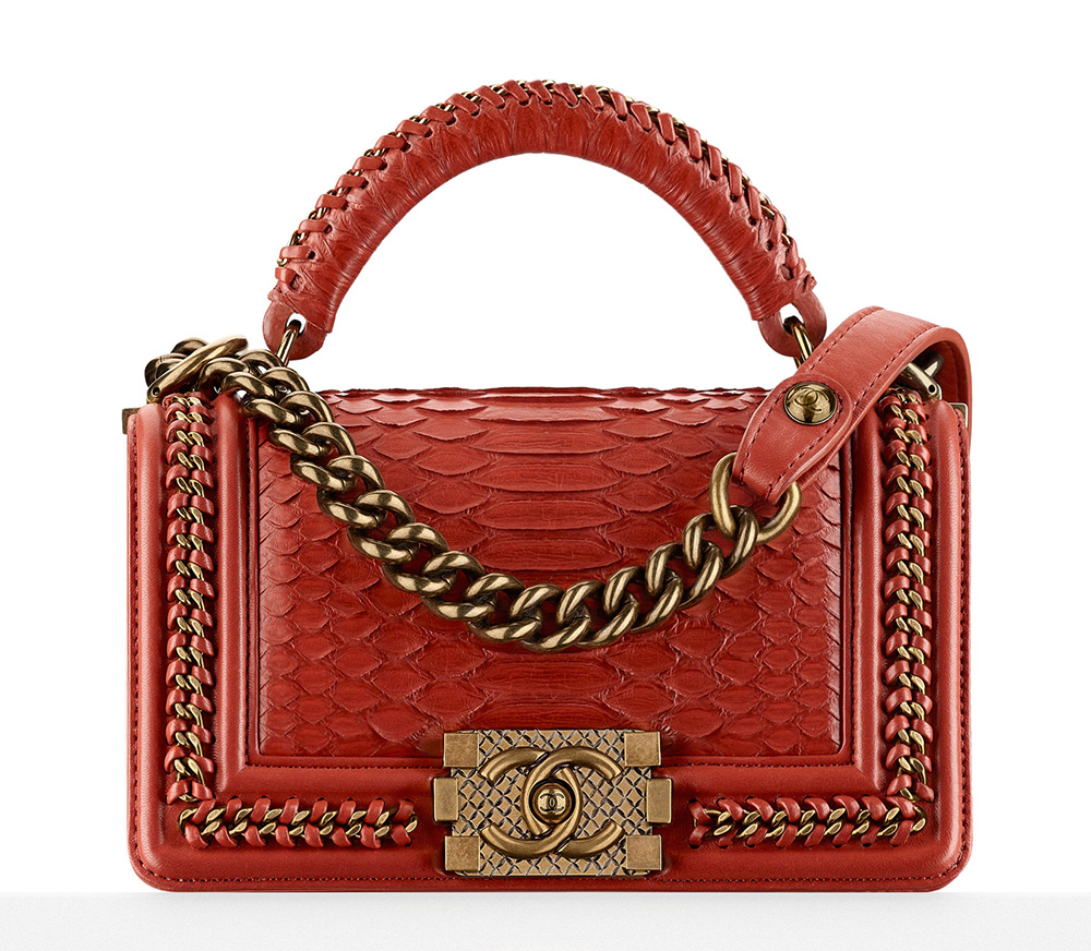 6ab16ebeed21 Chanel-Python-Boy-Bag-With-Handle-7200 - PurseBlog