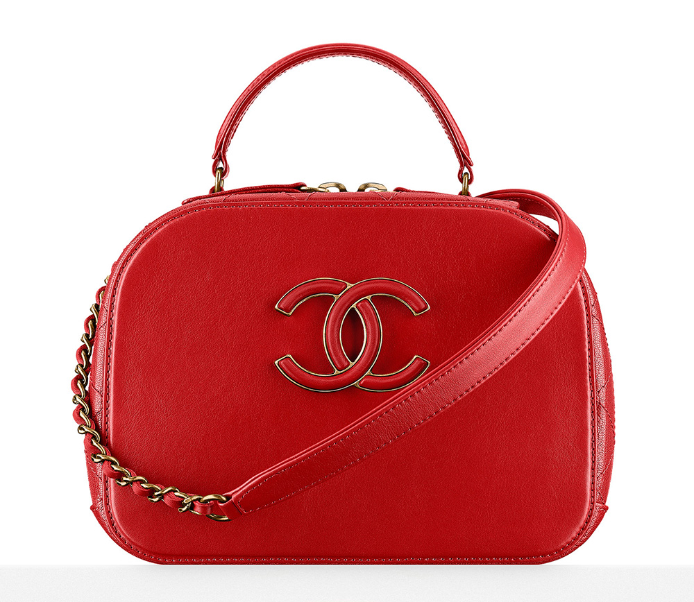 Chanel-Vanity-Case-Red-3000