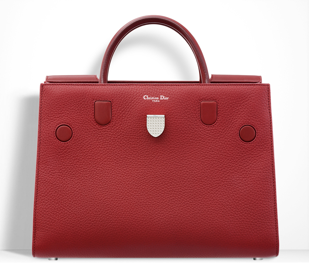 Christian-Dior-Diorever-Tote-Red