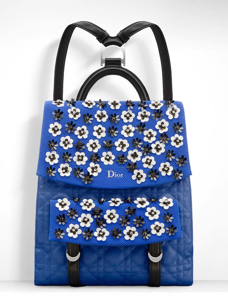 Christian-Dior-Stardust-Backpack-Blue