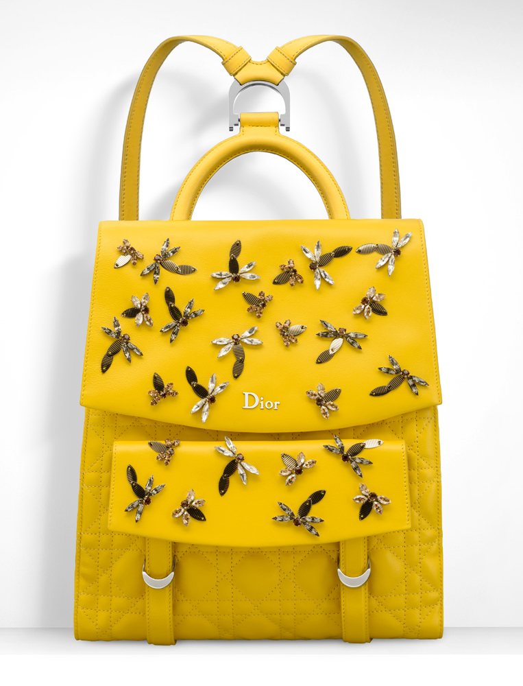 Christian-Dior-Stardust-Backpack-Yellow