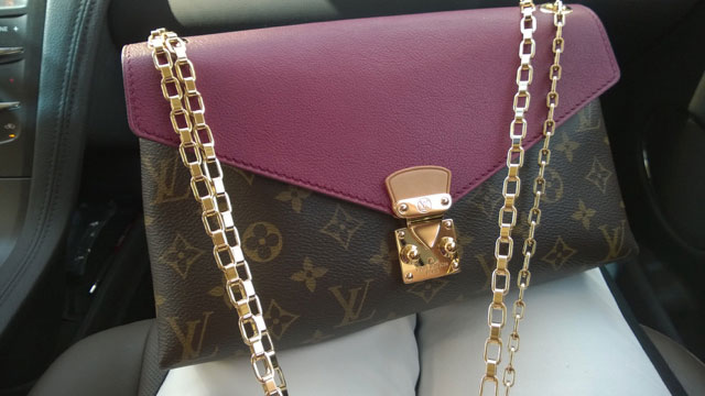 tPF Member: Cruisin4Coach, Bag: Louis Vuitton Pallas Chain, Shop: $2,260 via Louis Vuitton