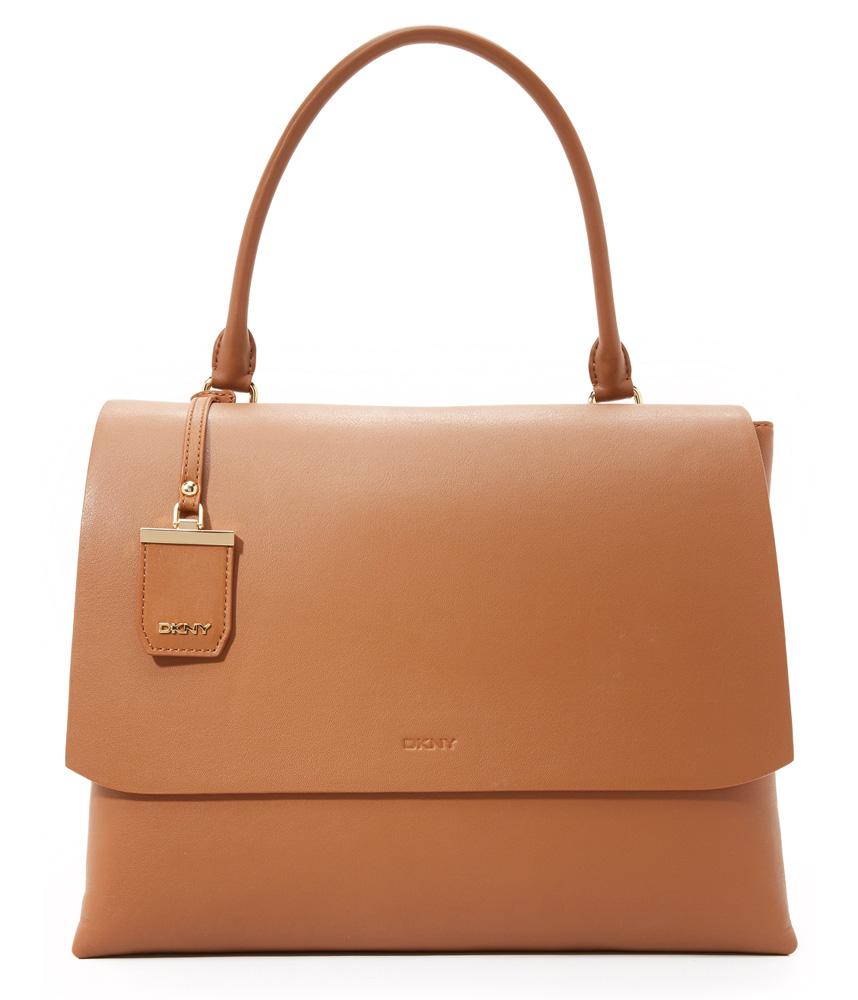 DKNY-Heavy-Nappa-Shoulder-Bag