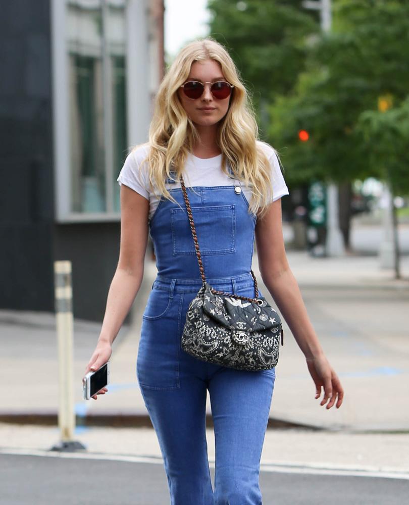 b6c2a055b230 Elsa-Hosk-Chanel-Flap-Bag