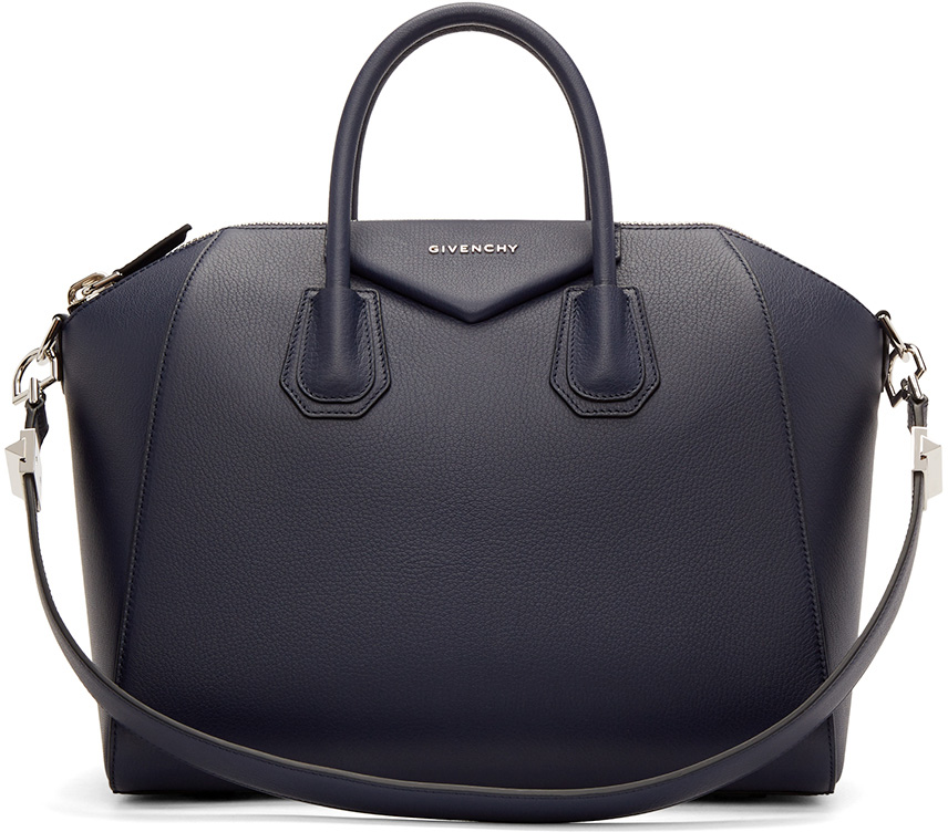 Givenchy-Antigona-Medium-Navy-Bag