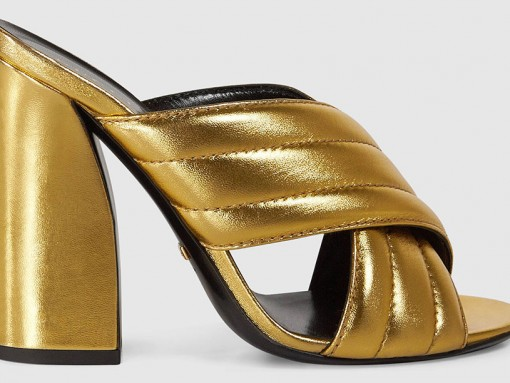 Gucci-Metallic-Crossover-Mules