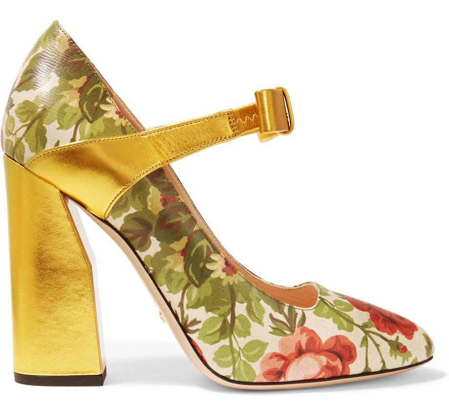 Gucci-for-Net-a-Porter-Floral-Pumps
