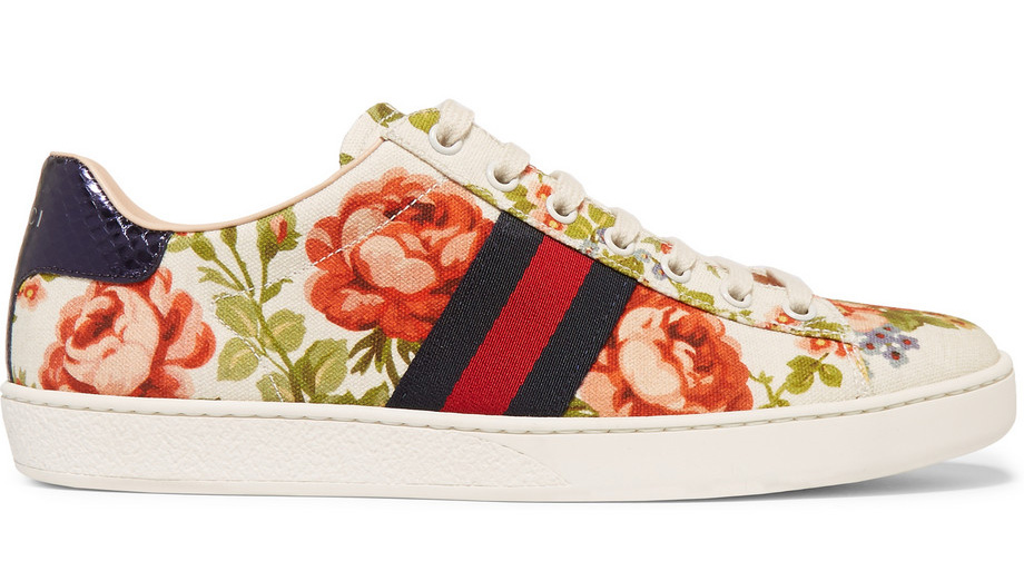 Gucci-for-Net-a-Porter-New-Ace-Floral-Sneakers