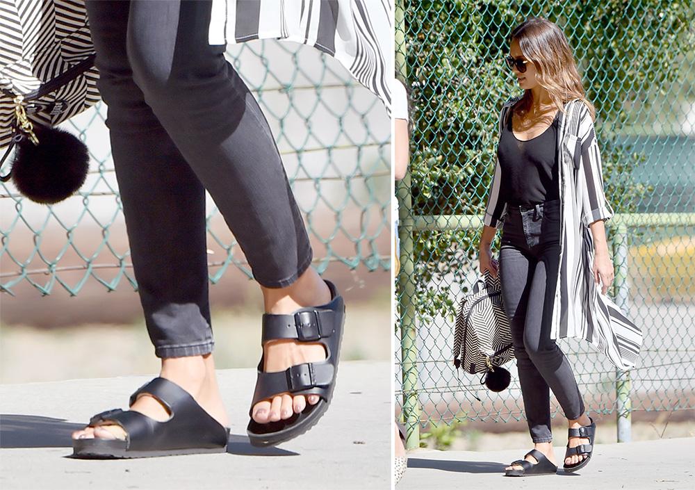 Jessica-Alba-Birkenstock-Monterey-Sandals
