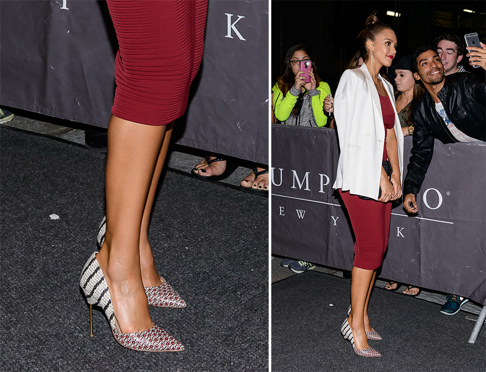 Jessica Alba S Shoe Picks Run The Young Chic Working Mom