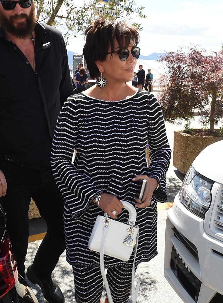 Kris-Jenner-Dior-Mini-Lady-Dior-Bag