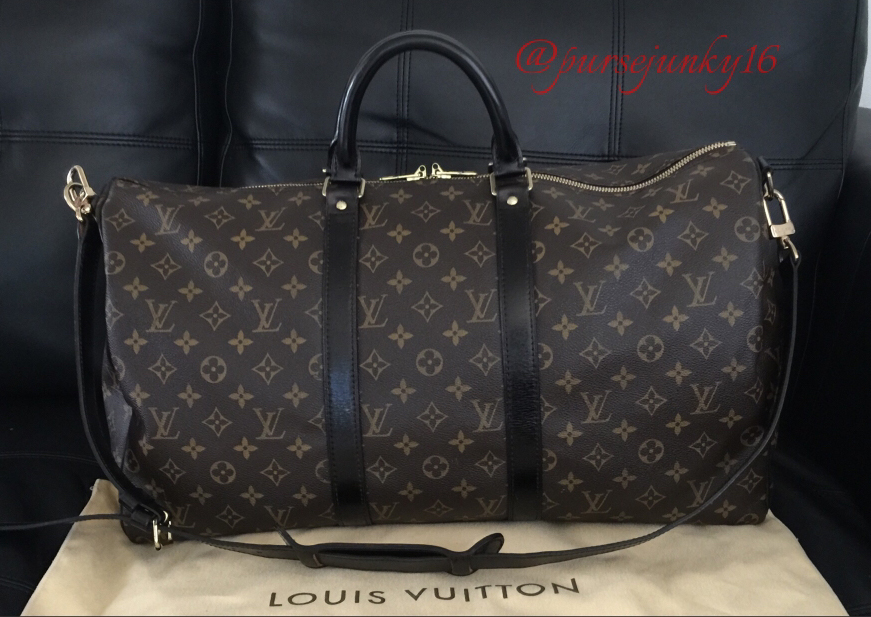 Louis-Vuitton-Keepall-Bag