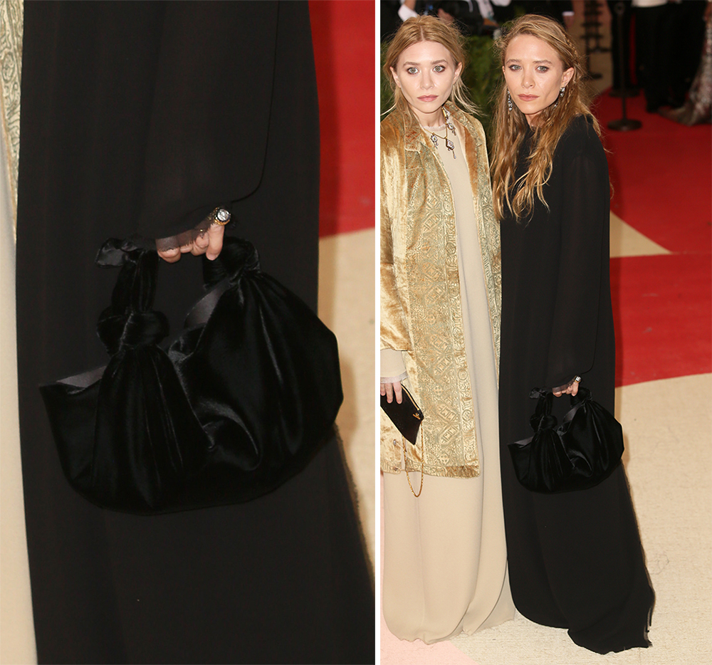 Mary-Kate-Olsen-The-Row-Velvet-Bag