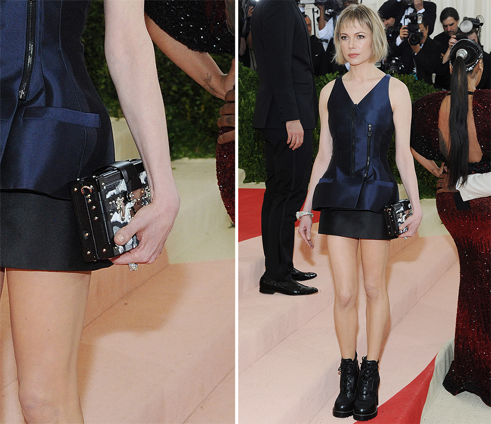 Michelle-Williams-Louis-Vuitton-Petite-Malle-Clutch