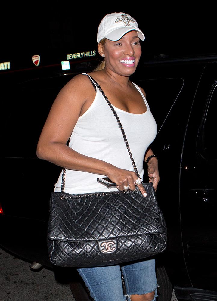 Nene-Leakes-Chanel-Maxi-Flap-Bag