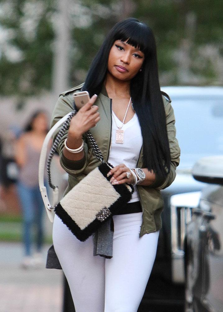 Nicki-Minaj-Chanel-Shearling-Boy-Bag