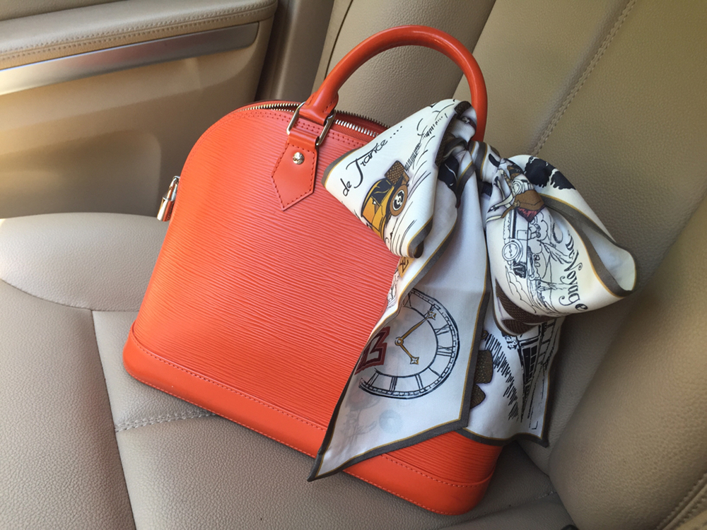 tPF Member: PinkInTheBlue, Bag: Louis Vuitton Alma BB Bag, Shop: $1,590 via Louis Vuitton