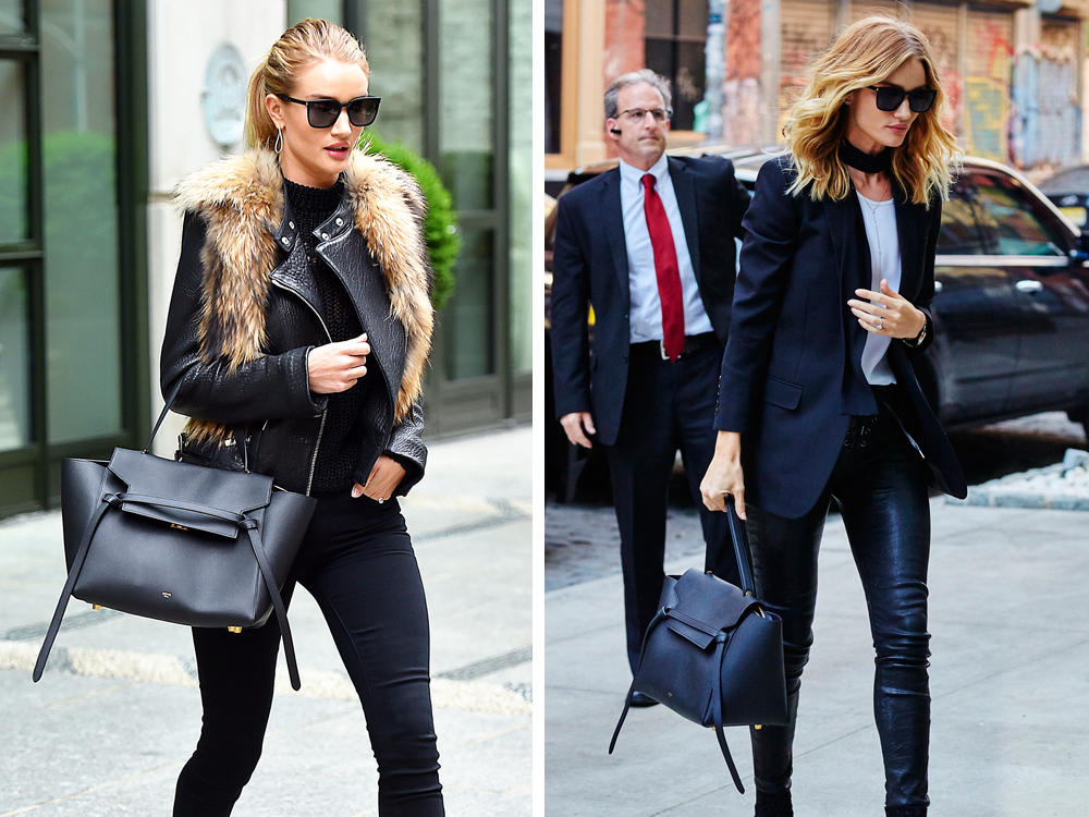 c38b6ec6d9a9 Just Can t Get Enough  Rosie Huntington-Whiteley and her Céline Belt ...