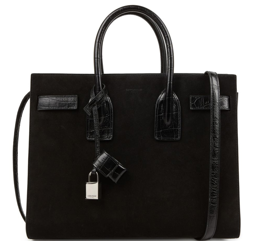 Saint-Laurent-Sac-de-Jour-Black-Suede