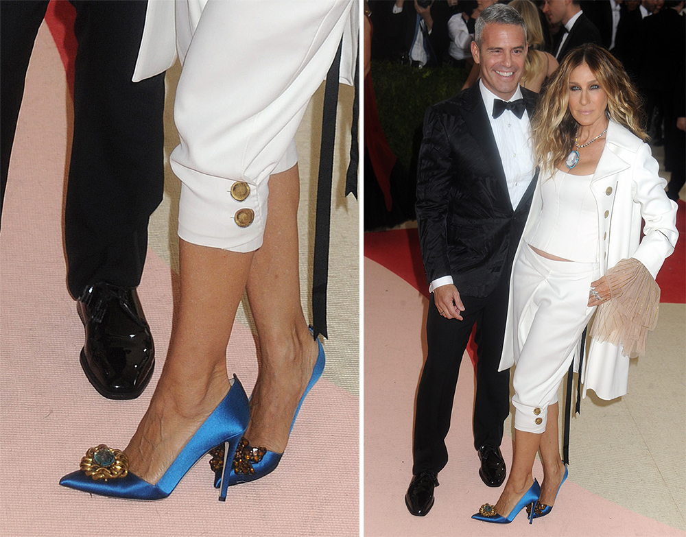 4ec62fe4d5 Sarah Jessica Parker is the Rare Celeb Who Walks the Walk When It Comes to  Wearing Her Own Shoe Line