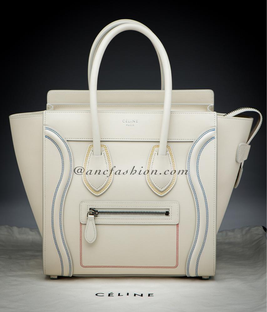 tPF Member: Ashlie Bag: Céline Micro Luggage Tote