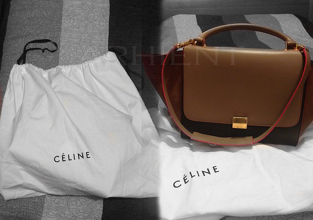 tPF Member: Arhient Bag: Céline  Trapeze Bag