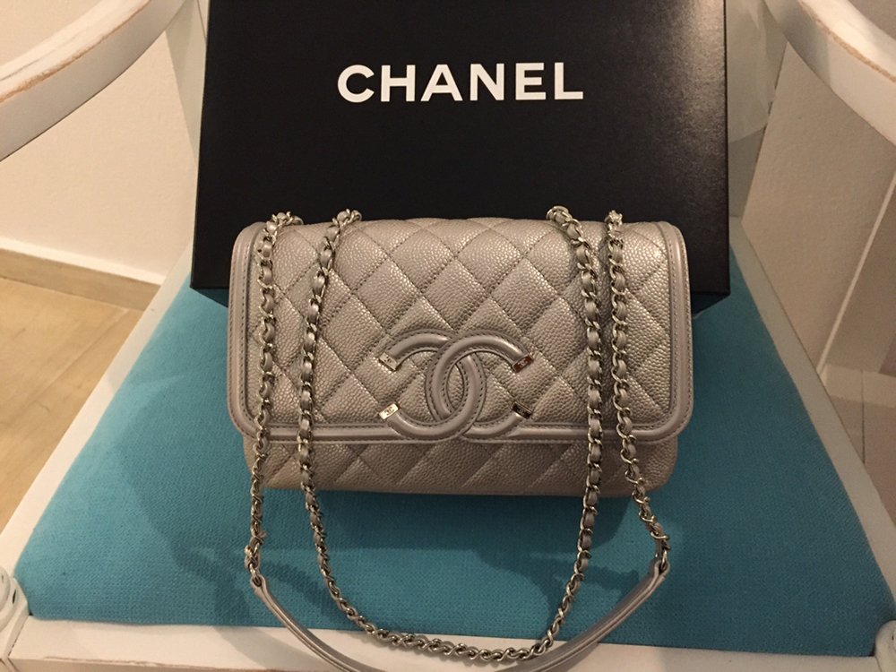 tPF Member: Babyoun6  Bag: Chanel Caviar Small Flap Filigree Bag