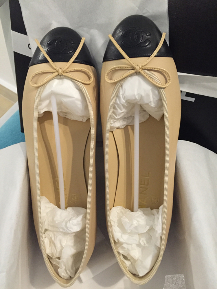 tPF Member: Babyoun6 Shoes: Chanel Ballerina Flats