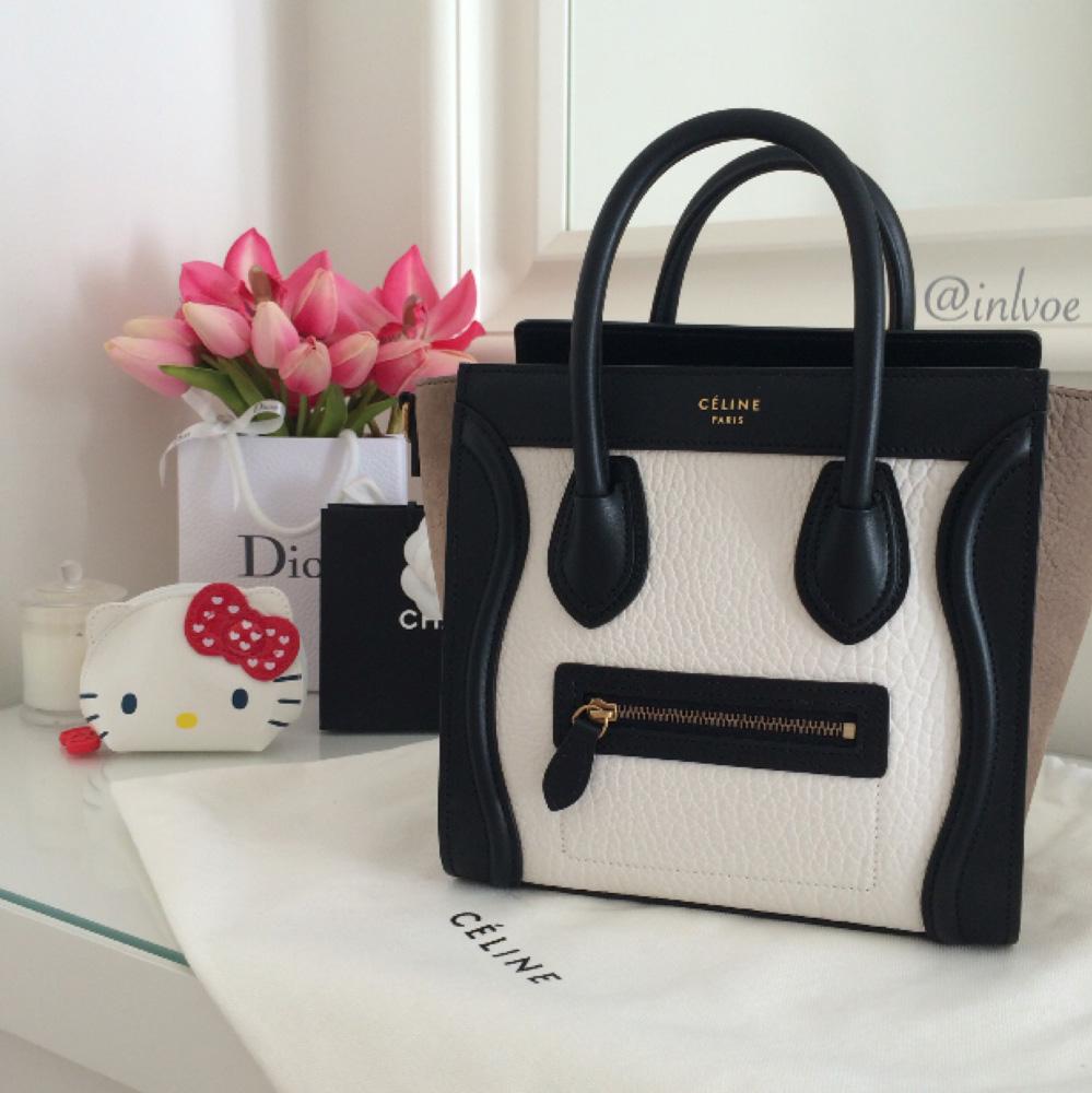 tPF Member: Bagchicky Bag: Céline Nano Luggage Tote