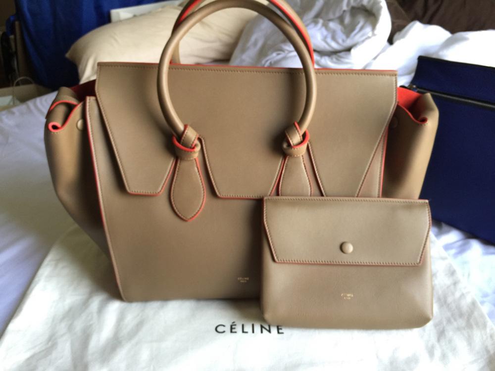 tPF Member: Jamiiejame Bag: Céline Tie Tote