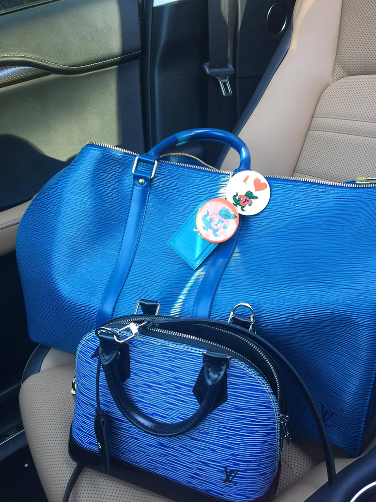 tPF Member: Mrsinsyder, Bag: Louis Vuitton Epi Leather Keepall and Louis Vuitton Epi Leather  Alma BB Bag, Shop: Keepall similar styles via Louis Vuitton and Alma $1,670 via Louis Vuitton