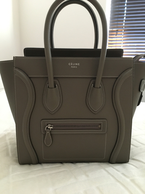 tPF Bag: Rosy82 Bag: Céline Micro Luggage Tote