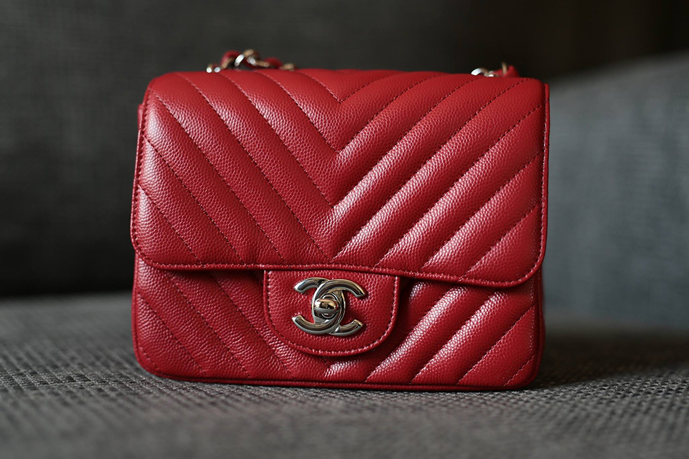 tPF Member: Sylwiasz Bag: Chanel Caviar Square Mini Classic Flap