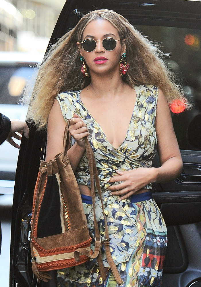 Beyonce-Suede-Bucket-Bag