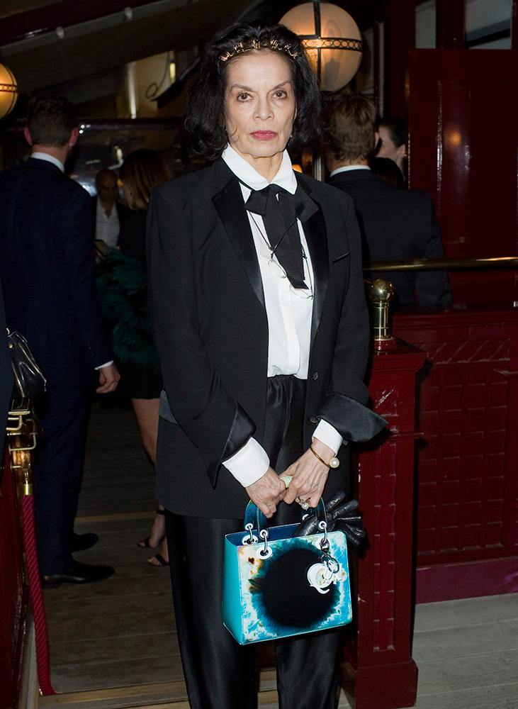 Bianca-Jagger-Dior-Lady-Dior-Bag