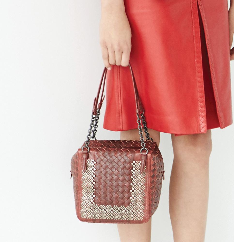 Bottega Veneta Mixes Colors, Textures and Leathers for ...